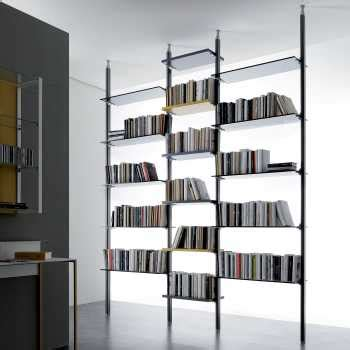librerie scorrevoli divisorie raumteiler b 252 cherregal designer raumteiler standregale