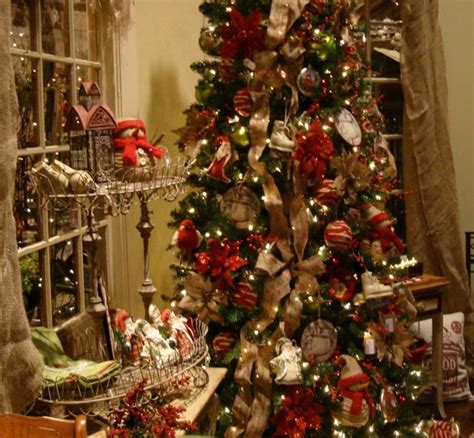homespun traditional christmas tree eclectic atlanta