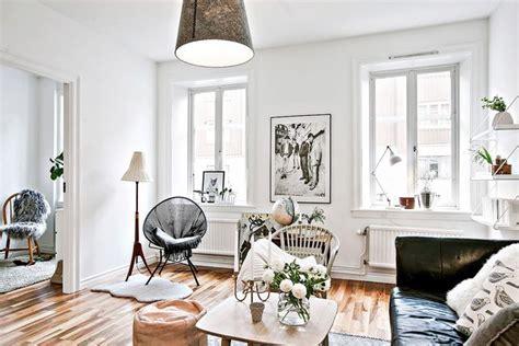 Small And Cute Scandinavian Apartment  Design Attractor