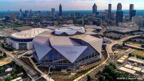 This is based on the 2019 fall season.… hotels near mercedes benz stadium: Mercedes Benz Stadium just outside downtown - Picture of Atlanta Helicopters LLC - Tripadvisor