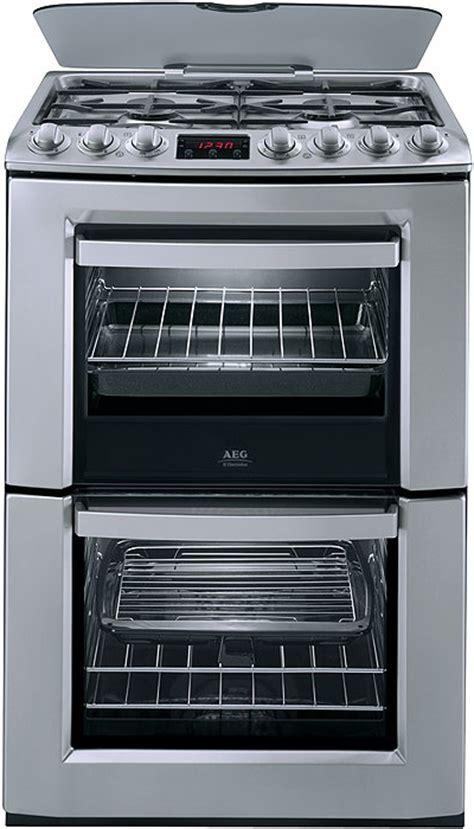 AEG range cookers   60 cm dual fuel, double oven range
