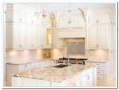 featuring white cabinet kitchen ideas home  cabinet