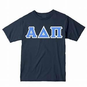 Sorority twill letter shirts v necks greek twill letter for Sorority twill letter shirts