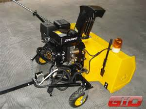 ATV Snow Blower Attachments