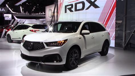 acura mdx  spec  york international auto show