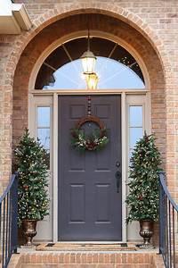 35, Front, Door, Christmas, Decorations, Ideas
