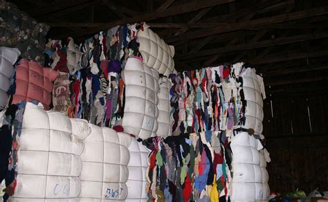 recycling bursting   seams  clothing industry