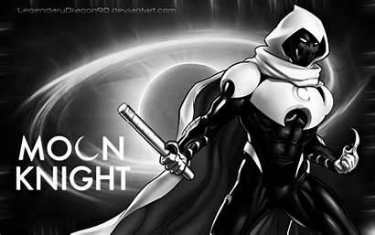 Knight Moon Deviantart Wallpapers Avatar Wallpaperaccess