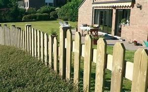 Cloture Et Jardin : cl tures et treillages en bois jardin et decoration ~ Nature-et-papiers.com Idées de Décoration