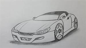 Dessin Jaguar Facile : comment dessiner une voiture youtube ~ Maxctalentgroup.com Avis de Voitures