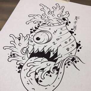 ideas  japanese demon tattoo  pinterest