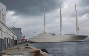 Russian Billionaire39s Mammoth 360m 39Sailing Yacht A