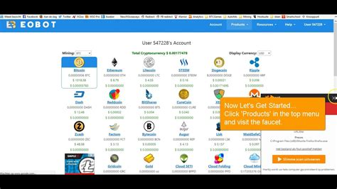 Choose your plan and start earning much more. Start Mining Bitcoin With EoBot For FREE! - YouTube