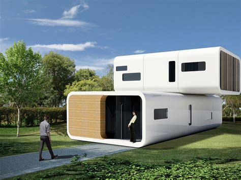 prefab modular living units by coodo germany