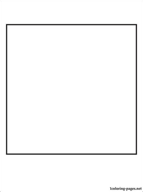 square coloring pages parallelogram coloring pages