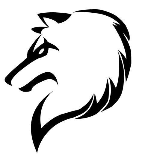 tribal wolf  justatrydeviantartcom  atdeviantart