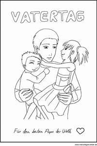 Malvorlage Zum Vatertag Ausmalbilder Fr Kinder