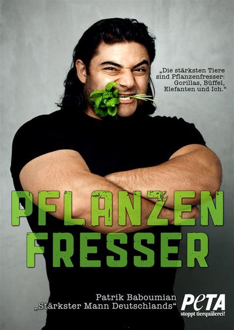 patrik baboumian der st 228 rkste mann deutschlands ist ein pflanzenfresser