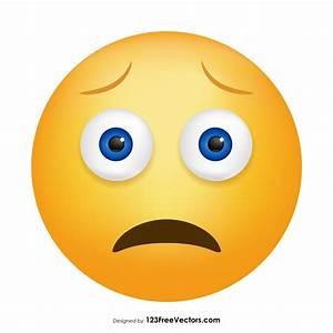 Worried Face Em... Worried Face