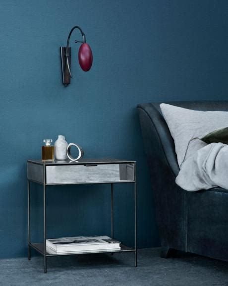 wand streichen  farbpalette der wandfarbe blau freshouse