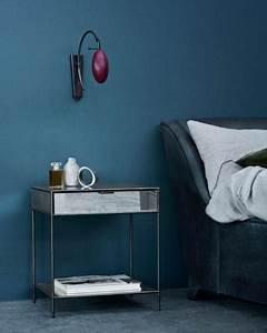 Schöner Wohnen Farbe Blau : wand streichen in farbpalette der wandfarbe blau freshouse ~ Frokenaadalensverden.com Haus und Dekorationen
