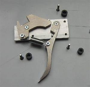 Crossbow Trigger Mechanism  Simple But Sturdy