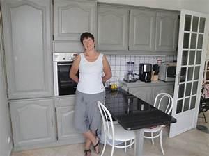 Meuble Repeint En Gris Perle : sup rieur peindre un meuble en pin vernis 5 vernis a ~ Dailycaller-alerts.com Idées de Décoration