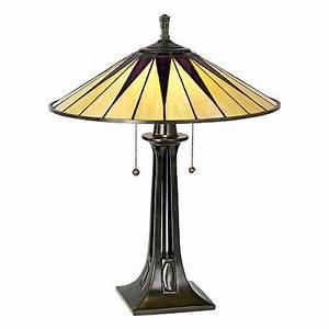 Quoizel gotham antique bronze tiffany style table lamp for Gotham tiffany style downbridge floor lamp