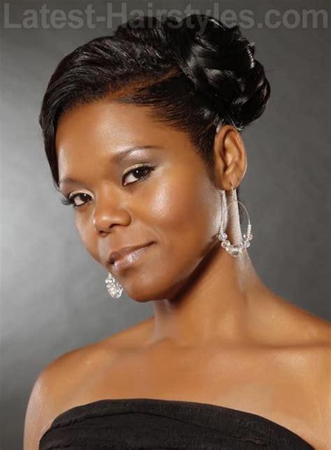glamorous wedding hairstyles  african american women