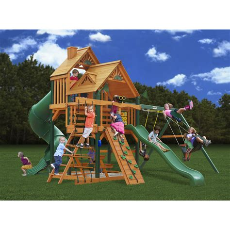 decorating awesome gorilla swing sets  kids play yard decor ideas jones clintoncom