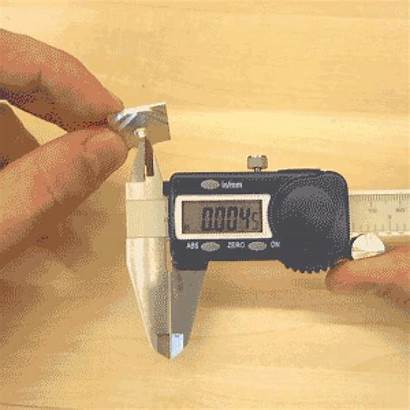 Digital Calipers Inside Wrong Tips Measuring Measure