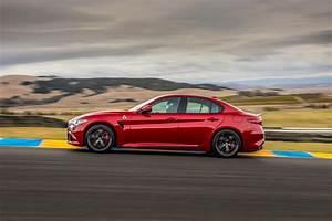 Alfa Romeo Giulia Quadrifoglio Occasion : 2017 alfa romeo giulia quadrifoglio u s spec first drive review automobile magazine ~ Gottalentnigeria.com Avis de Voitures