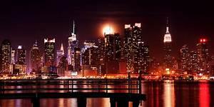 city, lights, night, photography, sea - image #214770 on ...