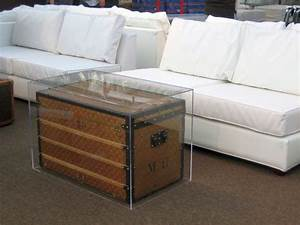 18 elegant trunk coffee table designs With acrylic chest coffee table
