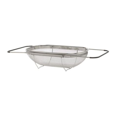 the sink colander ikea idealisk colander stainless steel black 34x23 cm ikea