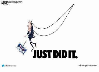 Political Cartoons Cartoon Biden Joe Week April
