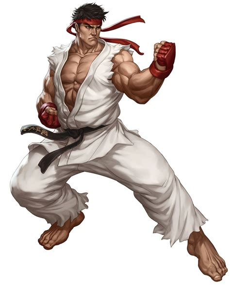 Ryu Street Fighter Iii Third Strike Online Edition Art