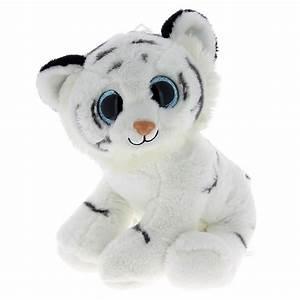 Grosse Peluche Panda : peluche tigre blanc aux gros yeux 30 cm barrado mynoors ~ Teatrodelosmanantiales.com Idées de Décoration