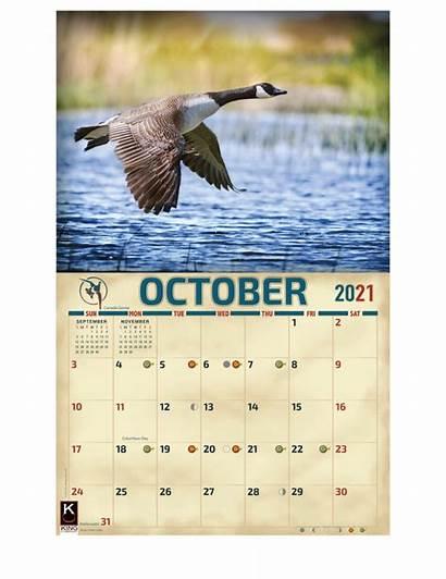 Waterfowl Calendar King Company Hunting Intense