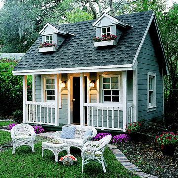 Backyard Cottage Playhouse - playhouses kennewick wa 99306