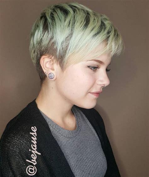 40 Super Niedliche Kurze Frisuren für Rundes Gesicht