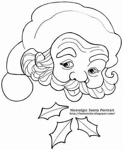 Santa Christmas Claus Coloring Countdown Pages Calendar