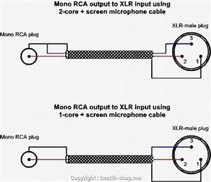 Xlr Microphone Cable Wiring Diagram  U2013 Car Wiring Diagram