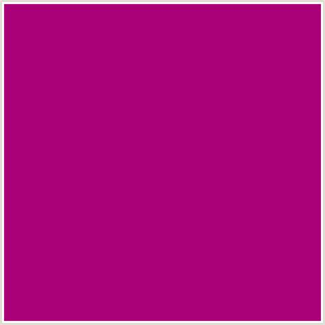 the color fuschia aa0078 hex color rgb 170 0 120 pink flirt