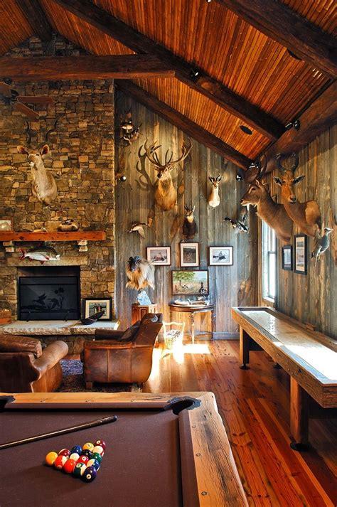 decorationsinspiring country man caves idea  deer