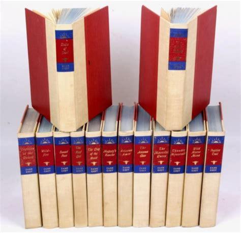 Zane Grey Books Zane Grey Western Book Collection Lot 284