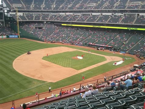 Texas Rangers Stadium Seating Chart View Www