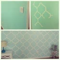 my mint green bedroom accent wall freehand painting room wall ideas mint