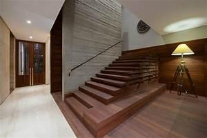 Main Courante Escalier Intérieur : bardage acier corten et d coration d int rieur assortie la maison diya ~ Preciouscoupons.com Idées de Décoration