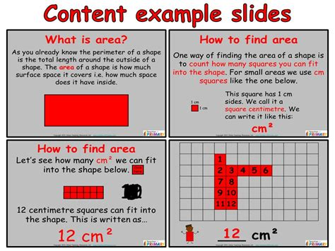 area worksheets year 4 tes area year 4 powerpoint and worksheets by